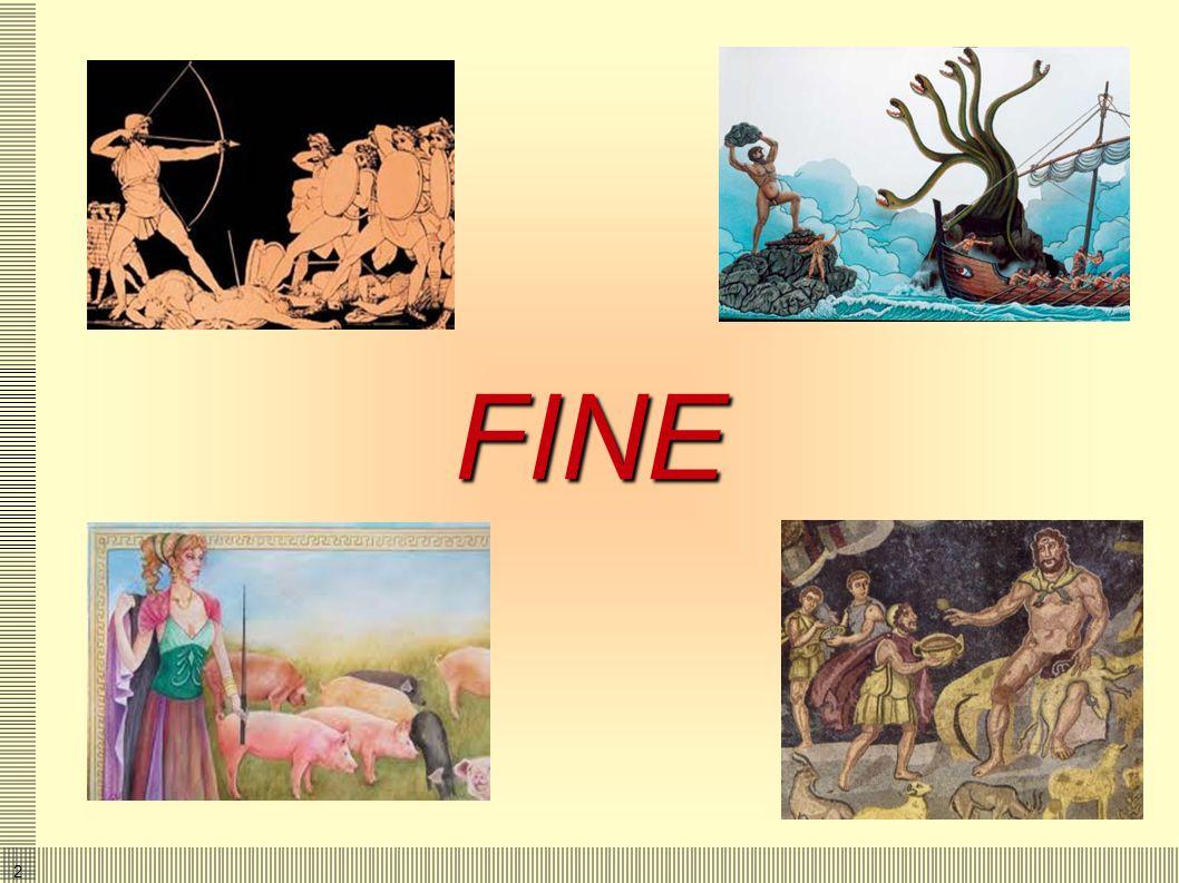 2323 La vendetta Ulisse, con Telemaco ed Eumeo, uccidono i Proci. Penelope riconosce Ulisse Ulisse racconta a Penelope che aveva costruito il loro let