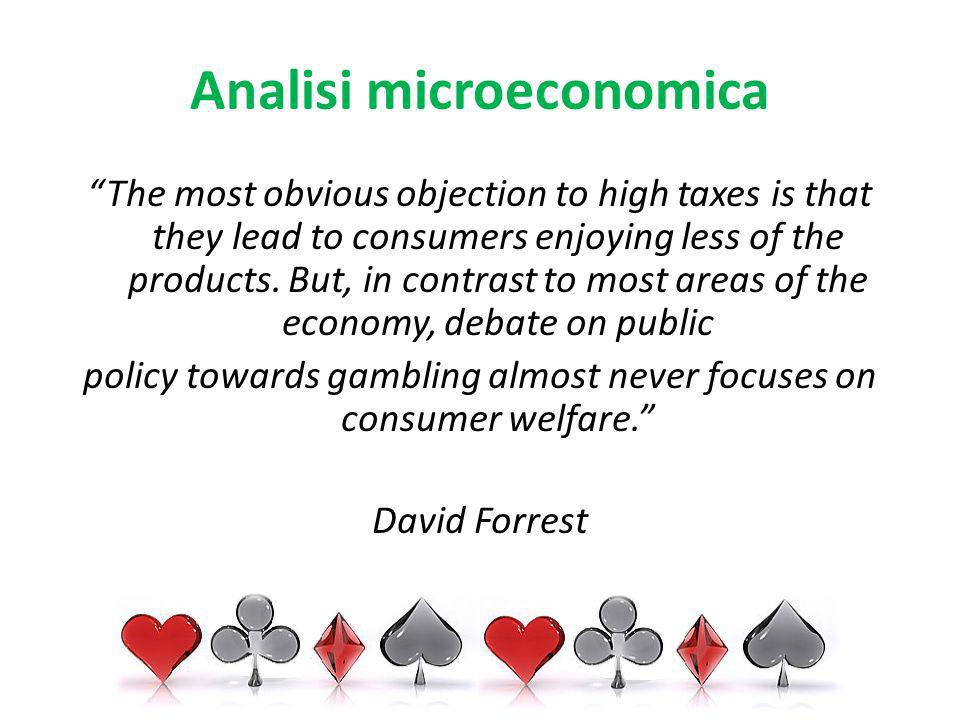 Analisi microeconomica The most obvious objection to high taxes is that they lead to consumers enjoying less of the products. But, in contrast to most