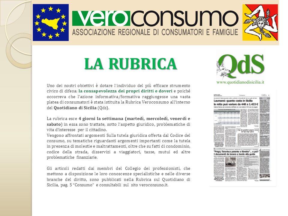 Lassociazione ha sede a Catania e conta una delegazione nel capoluogo isolano e due, di prossima apertura, a Messina e a Caltanissetta.