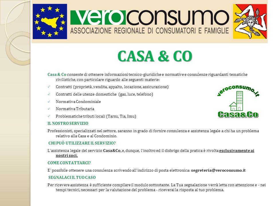 CONVENZIONI Il CREDITO SICILIANO ha riservato ai Soci di VEROCONSUMO unesclusiva convenzione su Conto Corrente.