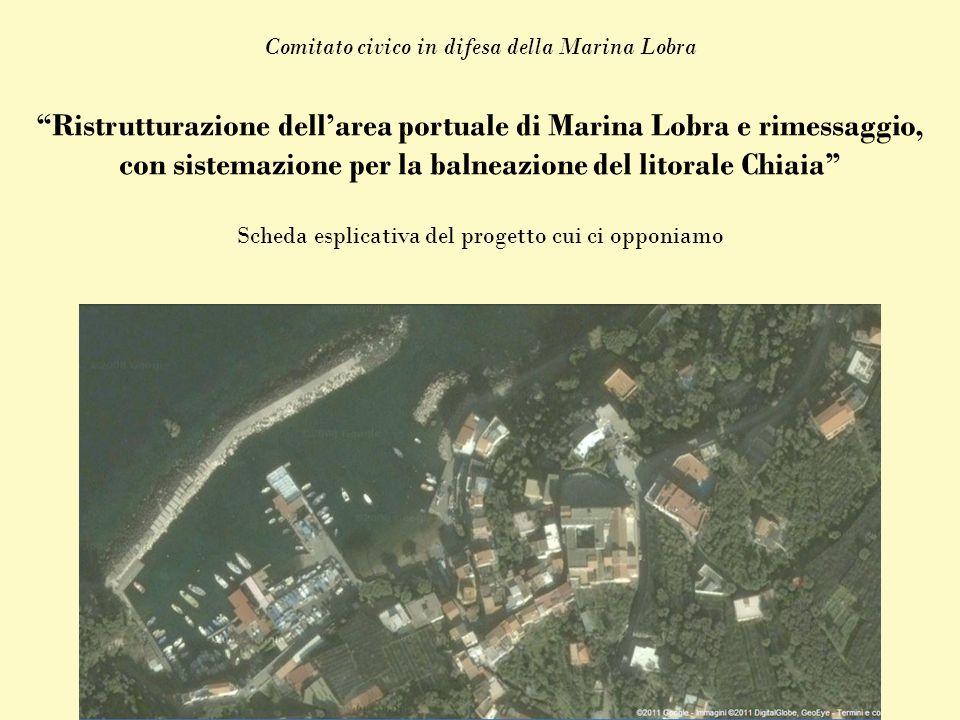 Ristrutturazione dellarea portuale di Marina Lobra e rimessaggio, con sistemazione per la balneazione del litorale Chiaia Comitato civico in difesa de