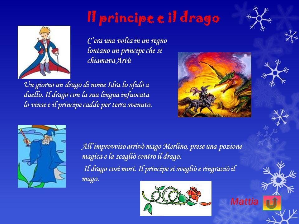 Il principe e il drago La mamma e i suoi figli L a principessa e il principe Clicca su ogni titolo Fiabe popolari siciliane