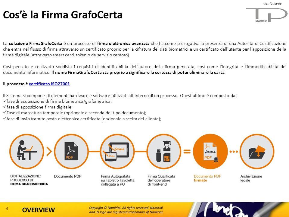 Cosè la Firma GrafoCerta La soluzione FirmaGrafoCerta è un processo di firma elettronica avanzata che ha come prerogativa la presenza di una Autorità