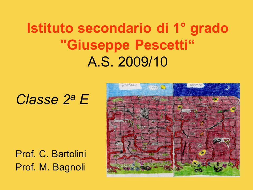 Istituto secondario di 1° grado Giuseppe Pescetti A.S.