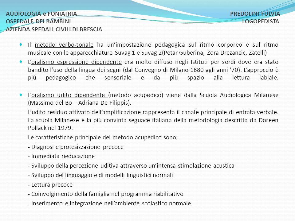 Metodo gestuale e metodo bimodale (studi di Volterra, Caselli, Beronesi) utilizzano A) la lingua dei B) litaliano segnato segni italiana esatto (LIS) (ISE) Il metodo protesico cognitivo (scuola di Varese dott.