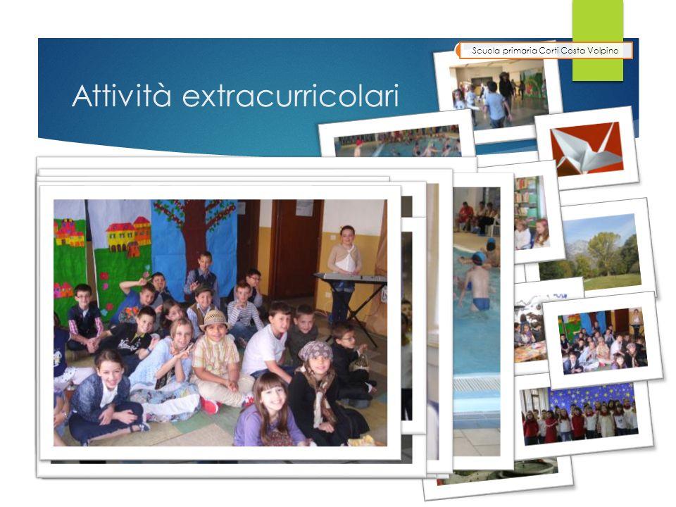 Attività extracurricolari Scuola primaria Corti Costa Volpino Corso di nuoto presso la piscina di Lovere Corso di ballo country Origami Visita alla bi