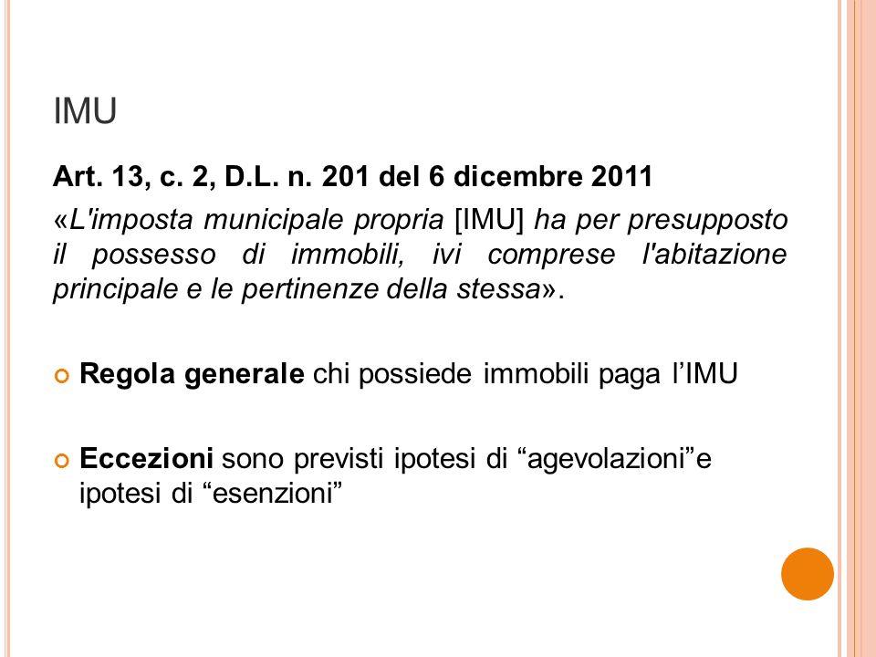 IMU Art. 13, c. 2, D.L. n.