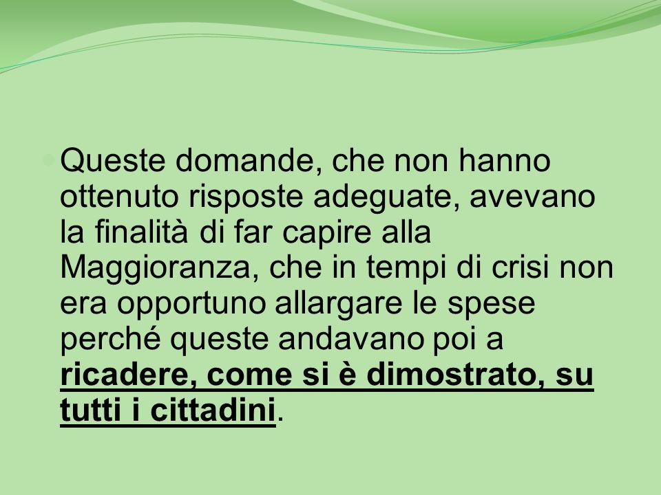 Febbraio 2013 - C. Comunale La Maggioranza stipulava una convenzione con il Comune di Rofrano per associare la funzione di Segreteria (in nove anni di