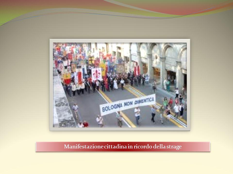 Manifestazione cittadina in ricordo della strage