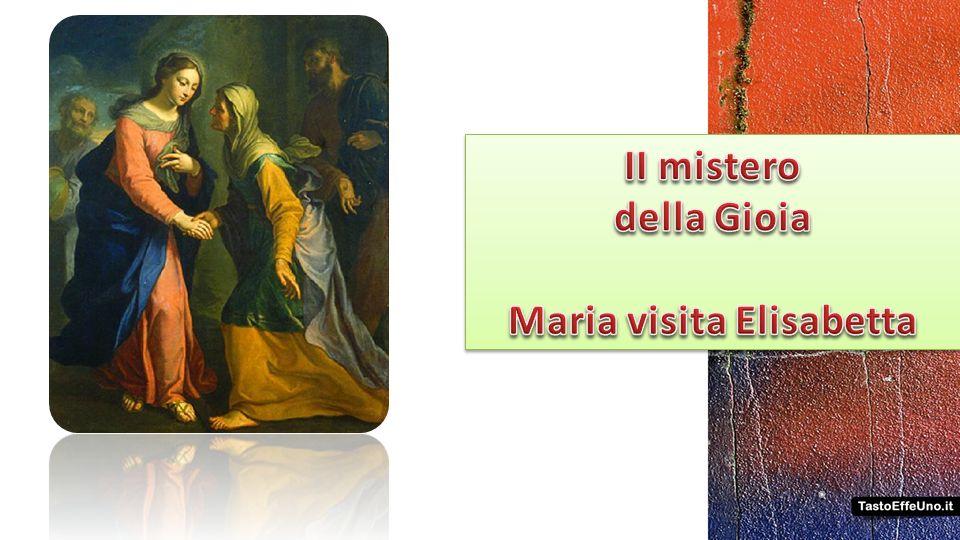 preghiamo perché la nostra fede porti speranza nel mondo Padre nostro … 10 Ave Maria … Gloria al Padre