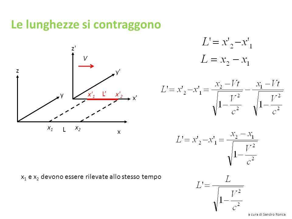c = 299792,458 km/s La velocità della luce è una velocità limite in questo universo a cura di Sandro Ronca