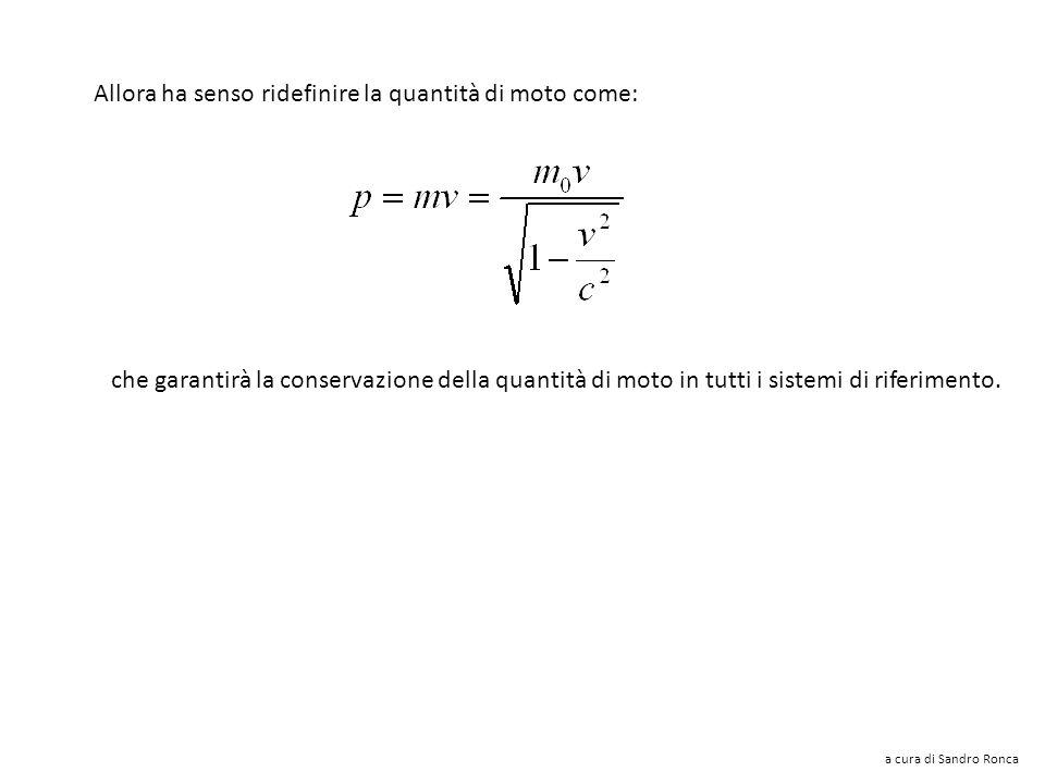 Tutti gli osservatori saranno in grado di calcolare correttamente Δt 0 e soprattutto otterranno lo stesso valore una volta che si sia misurato il temp
