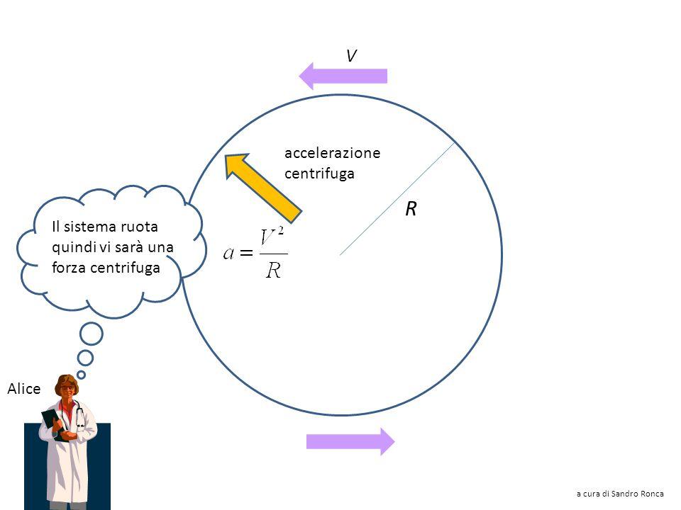 Nella giostra la forza centrifuga spinge gli oggetti verso lesterno Chi sta sulla giostra può pensare di essere in quiete, ma in presenza di un campo
