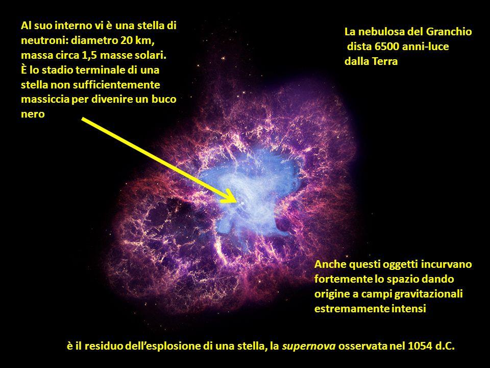 immagine:http://astrocultura.uai.it Una massa incurva lo spazio-tempo La forza di gravità non esiste. È la deformazione dello spazio-tempo che costrin