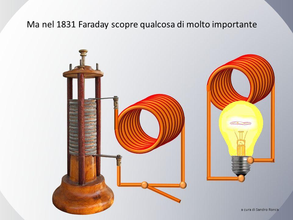 Ho provato in tutti i modi, ma… NIENTE! Michael Faraday (1791-1867) a cura di Sandro Ronca
