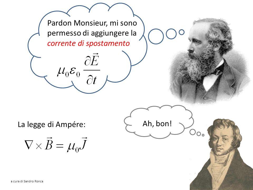 Mais, non lavevo scritta comme ça, moi! La legge della circuitazione del Signor Ampère André-Marie Ampère (1775-1836) a cura di Sandro Ronca