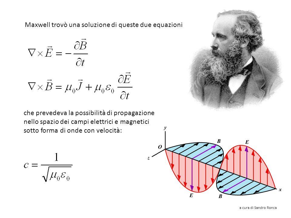 Un campo magnetico B può essere creato da una (densità di) corrente J, ma anche dalla variazione di un campo elettrico E. La corrente di spostamento è