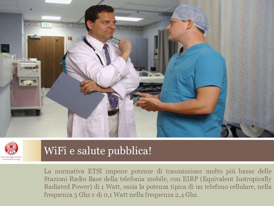 WiFi e salute pubblica.