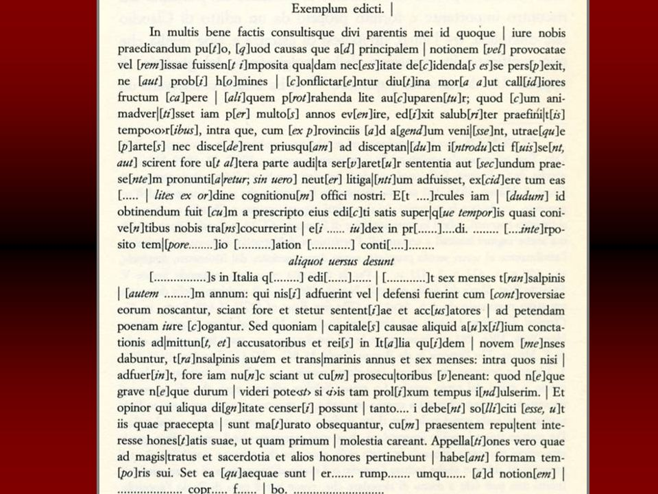Epistulae Octaviani Caesaris de Seleuco navarcha.Linscrizione di Rhosos posteriore al nov./dic.