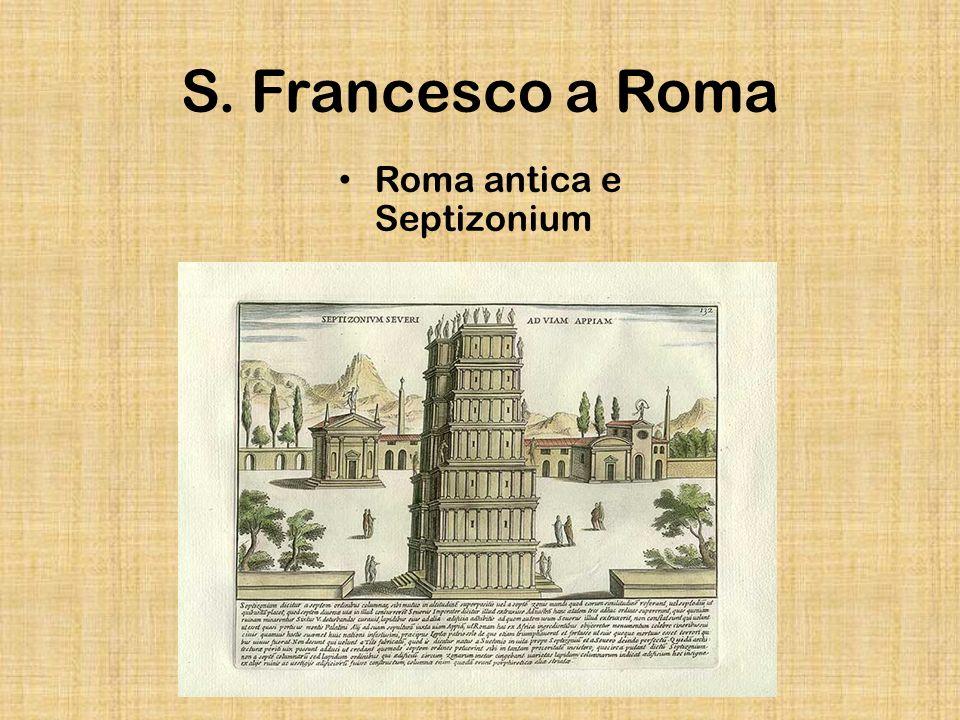 S. Francesco a Roma Roma antica e Septizonium