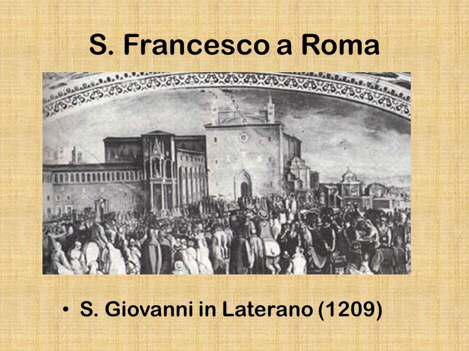 S.Francesco a Roma Chiesa di San Francesco a Ripa Grande, Cella di s.