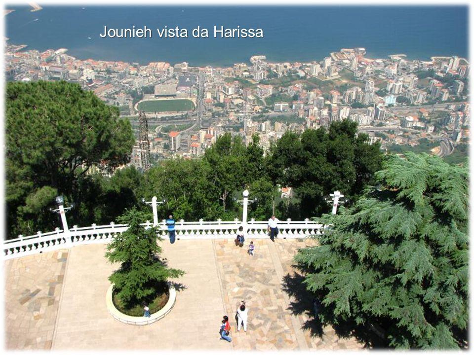 Jounieh vista da Harissa