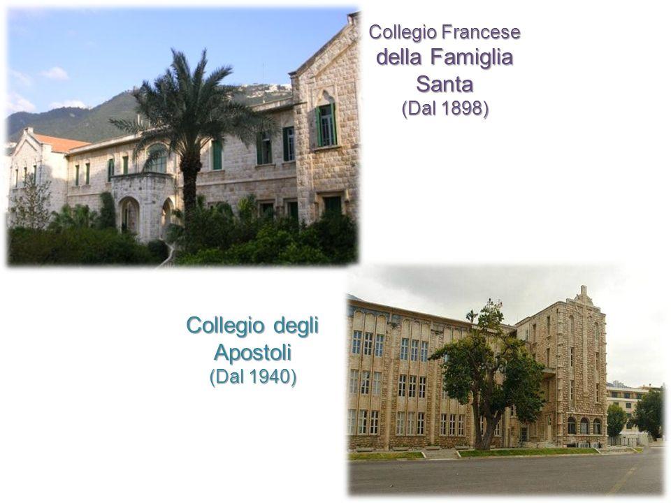 Collegio Francese della Famiglia Santa (Dal 1898) Collegio degli Apostoli (Dal 1940)