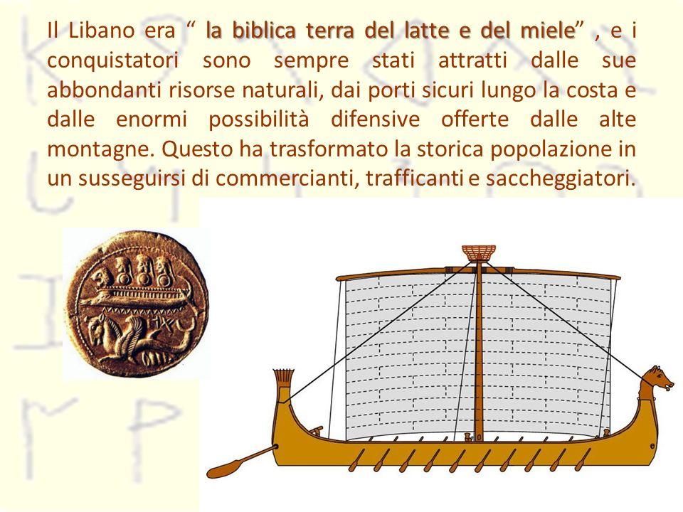 la biblica terra del latte e del miele Il Libano era la biblica terra del latte e del miele, e i conquistatori sono sempre stati attratti dalle sue ab