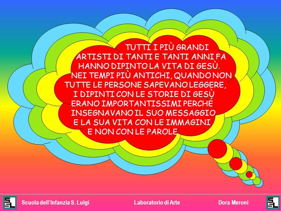 Scuola dellInfanzia S.LuigiLaboratorio di ArteDora Meroni GUARDA QUESTO AFFRESCO DI GIOTTO.