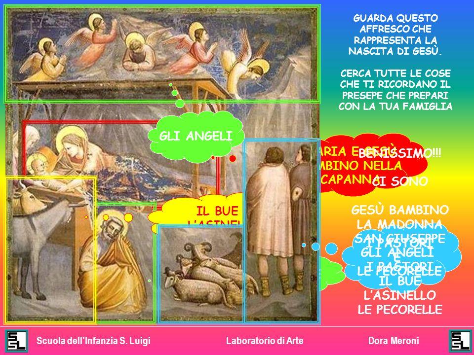 Scuola dellInfanzia S. LuigiLaboratorio di ArteDora Meroni LA CHIESETTA FU FATTA COSTRUIRE DA UN SIGNORE CHE SI CHIAMAVA ENRICO SCROVEGNI GUARDA IL DI