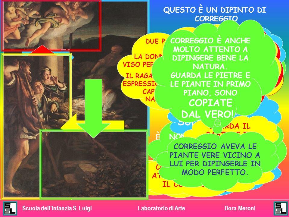 Scuola dellInfanzia S. LuigiLaboratorio di ArteDora Meroni GUARDA… ANCHE IN QUESTO AFFRESCO SAN GIUSEPPE SEMBRA ADDORMENTATO, MENTRE MARIA E GESÙ BAMB