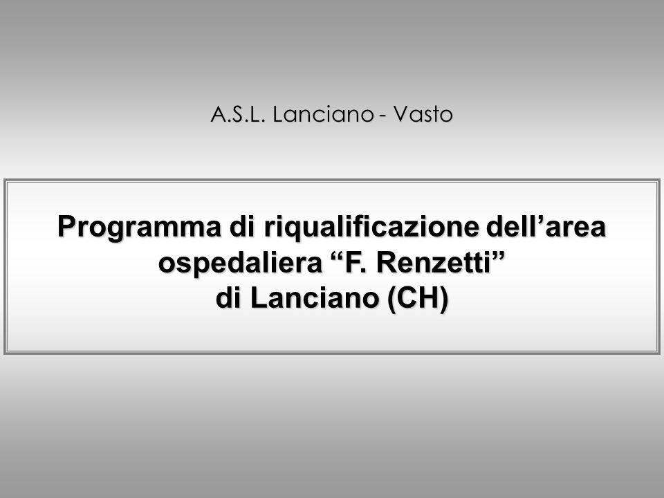 Schema volumetrico della proposta progettuale / 2 Area ospedaliera F.