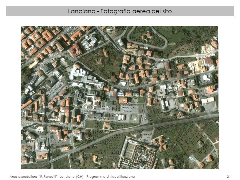 Immagini del progetto: planimetria generale Area ospedaliera F.