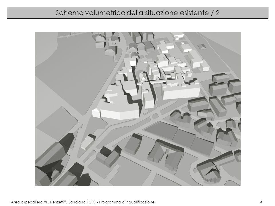 Immagini del progetto: pianta piano interrato Area ospedaliera F.