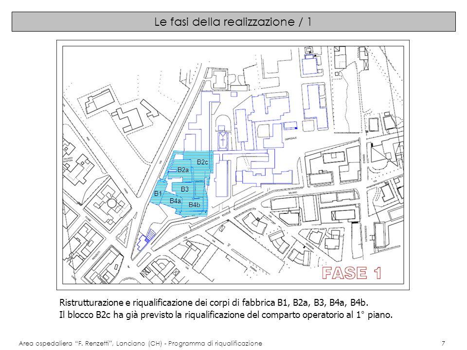 Immagini del progetto: pianta secondo piano Area ospedaliera F.
