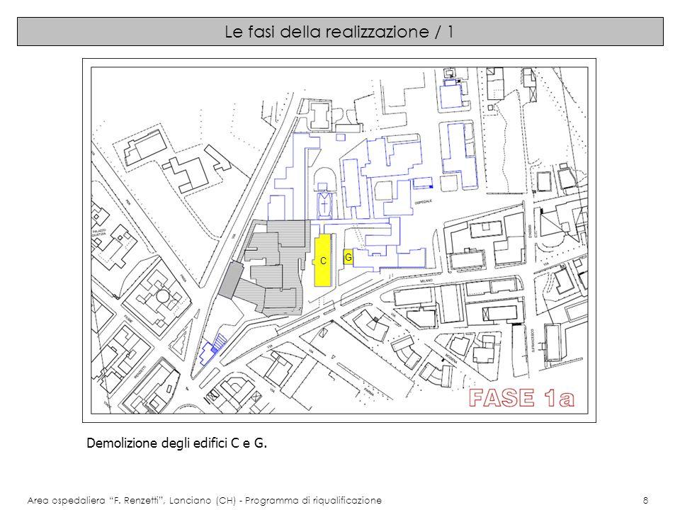 Le fasi della realizzazione / 1 Area ospedaliera F.