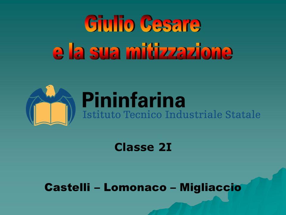 Classe 2I Castelli – Lomonaco – Migliaccio