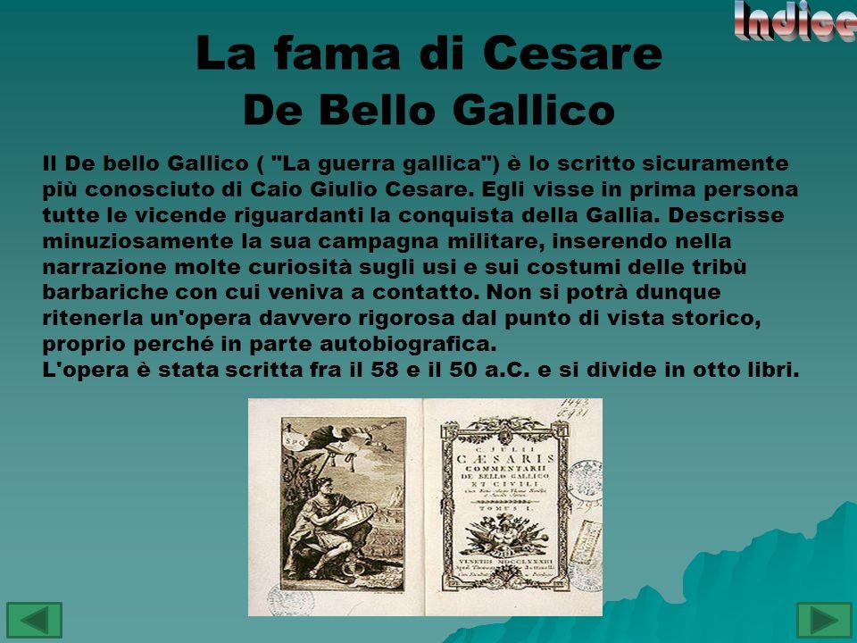De Bello Civili Il De bello civili ( La guerra civile ), è la seconda opera di Gaio Giulio Cesare.