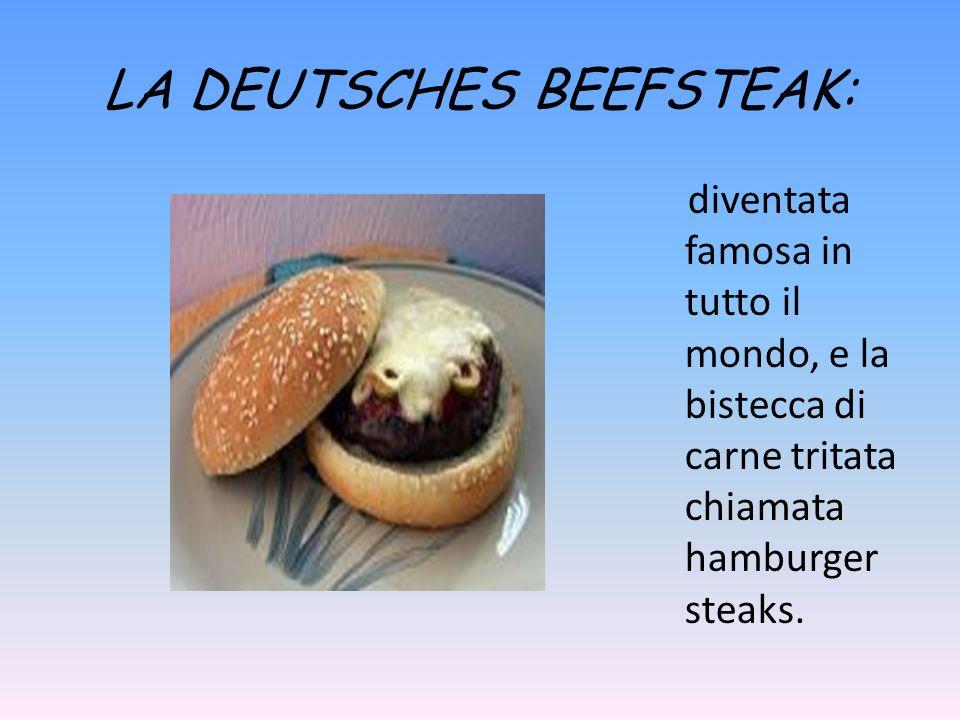LE MATOSCHEN: sono una specie di ravioli farciti di cervella di vitello, maiale e spinaci.
