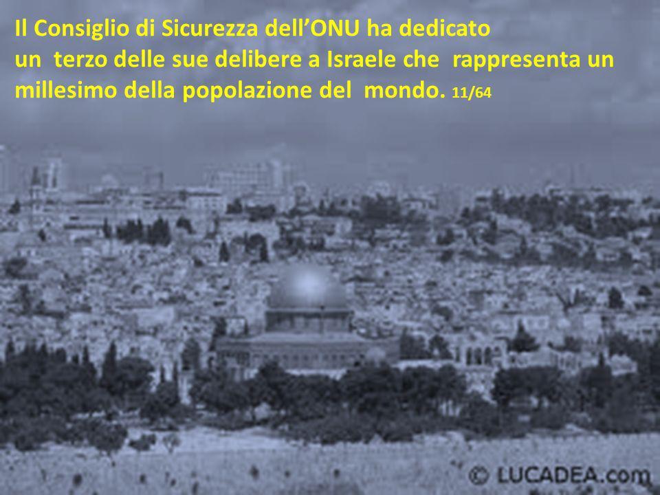 Non New York, Berlino o Tokyo, … La piccola Gerusalemme è diventata una pietra pesante. 10/64