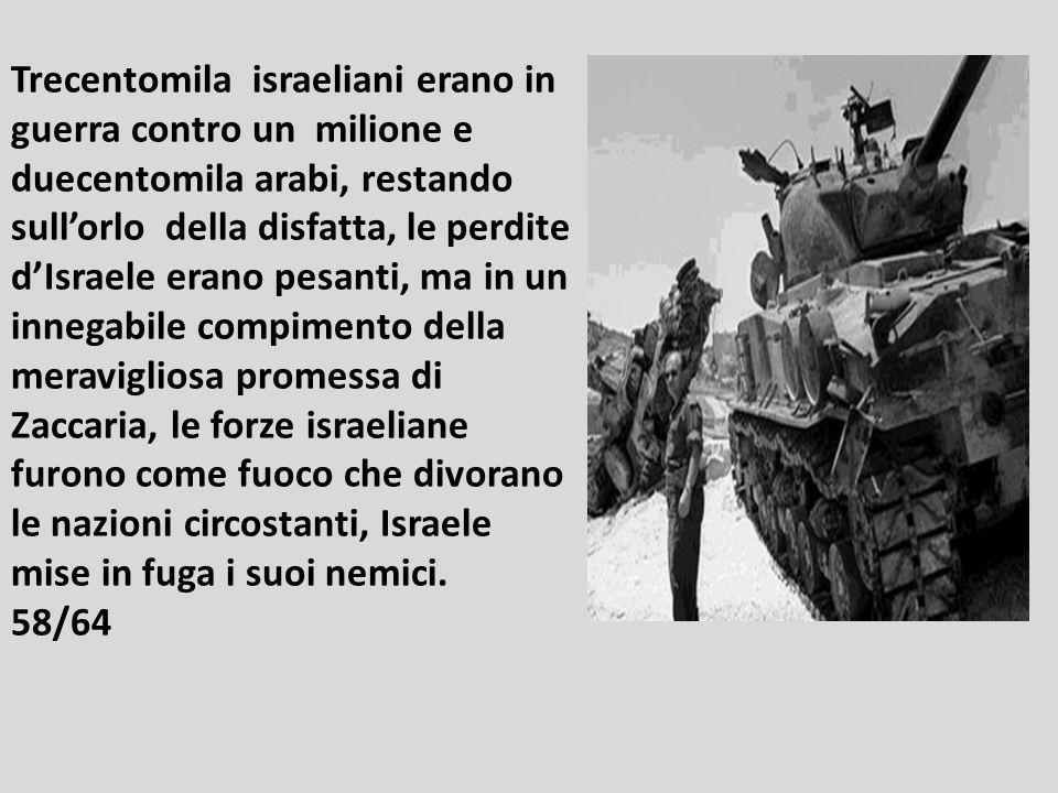 Nella guerra dello Yom Kippur nel 1973 migliaia di carri armati avanzarono simultaneamente attraverso il Sinai dallEgitto e dalle alture di Golan dell