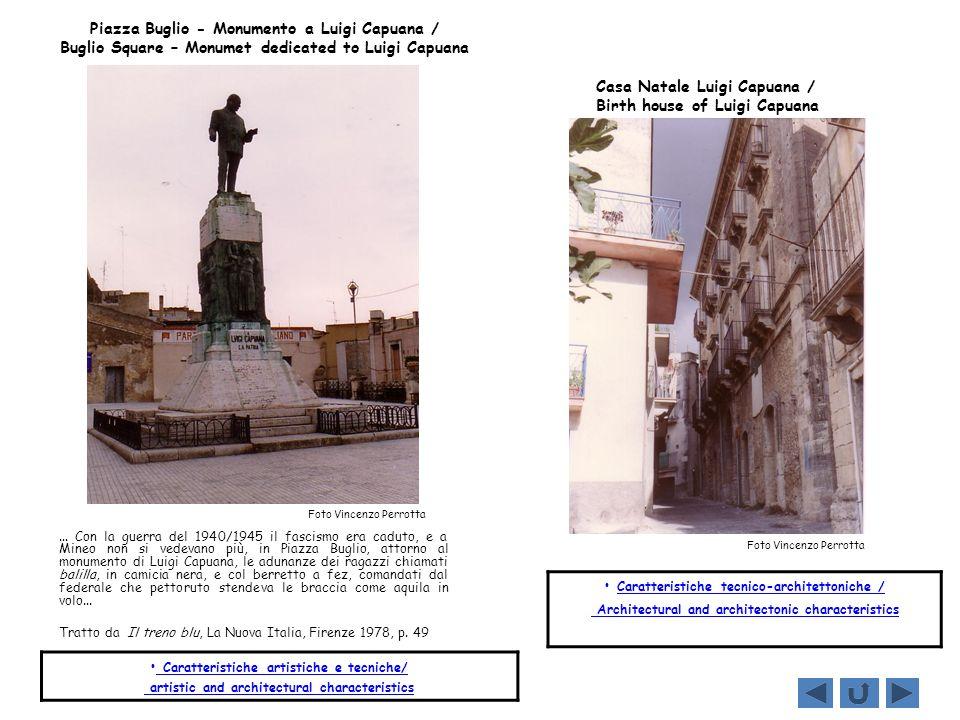 Personaggi / Personages LUIGI CAPUANA Luigi Capuana nacque a Mineo il 28 maggio 1839.