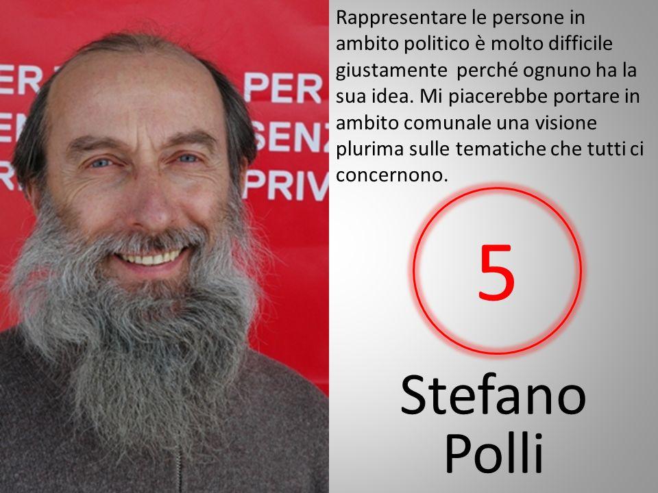 Stefano Polli Rappresentare le persone in ambito politico è molto difficile giustamente perché ognuno ha la sua idea.