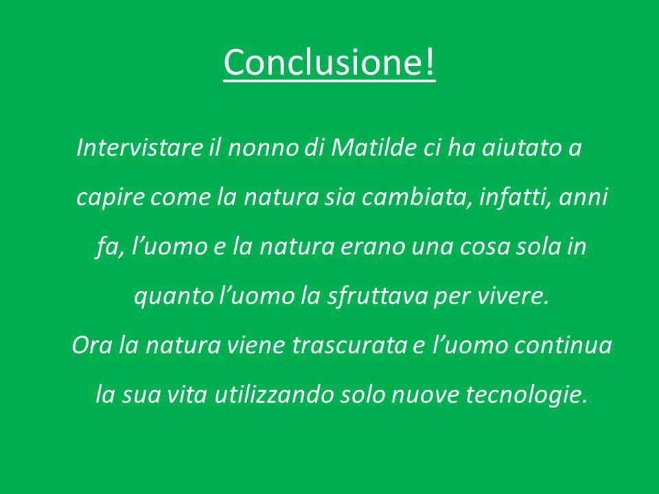 Conclusione.