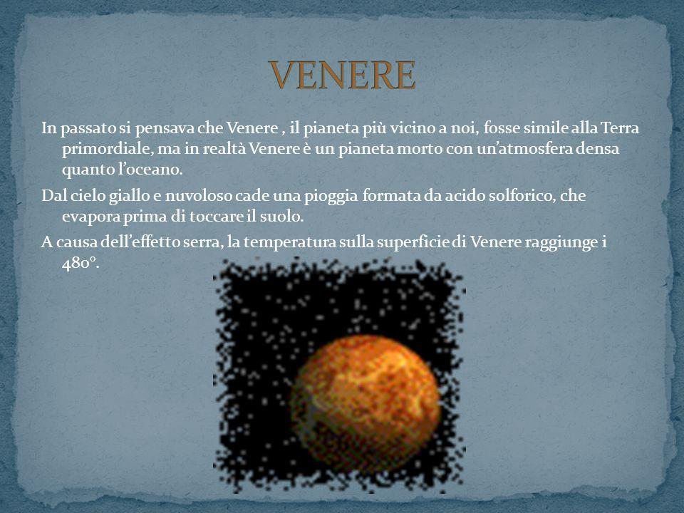In passato si pensava che Venere, il pianeta più vicino a noi, fosse simile alla Terra primordiale, ma in realtà Venere è un pianeta morto con unatmos