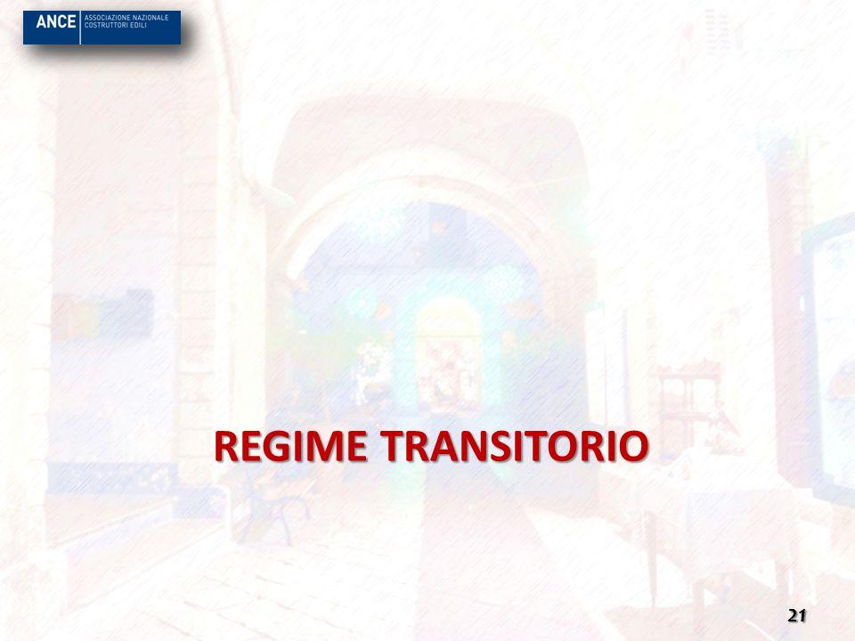 REGIME TRANSITORIO 21