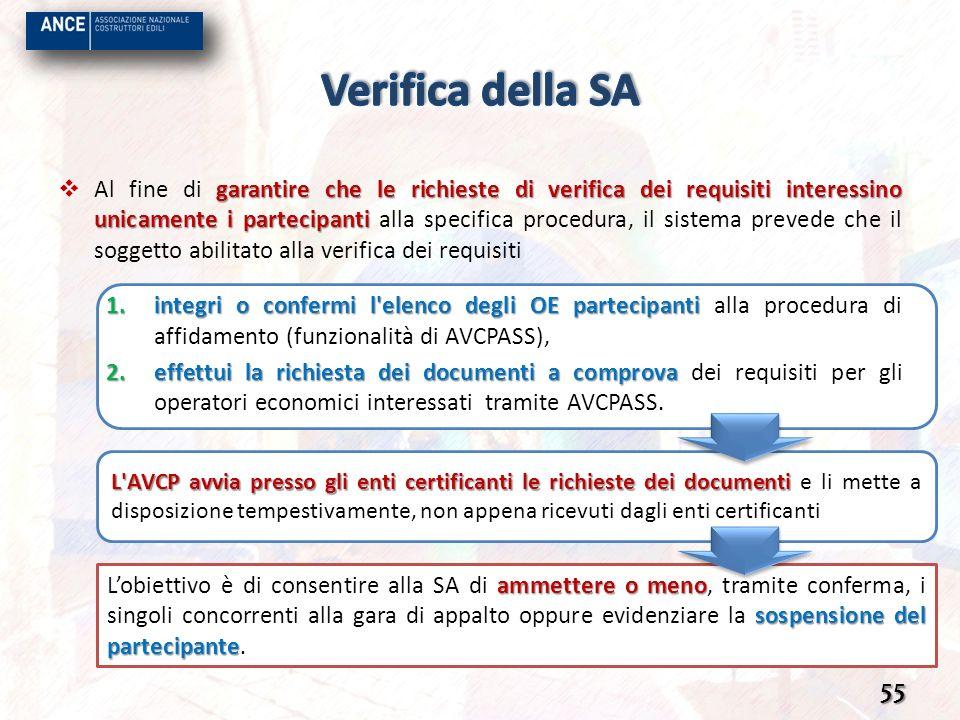 L'AVCP avvia presso gli enti certificanti le richieste dei documenti L'AVCP avvia presso gli enti certificanti le richieste dei documenti e li mette a