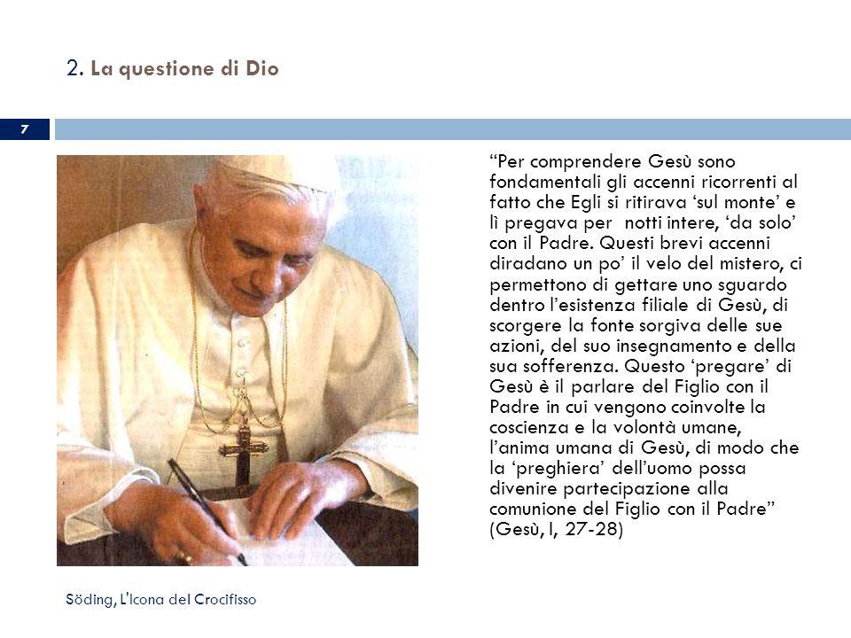 3.La preghiera sulla Croce Joseph Ratzinger / Benedetto XVI.