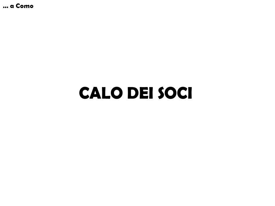 CALO DEI SOCI … a Como