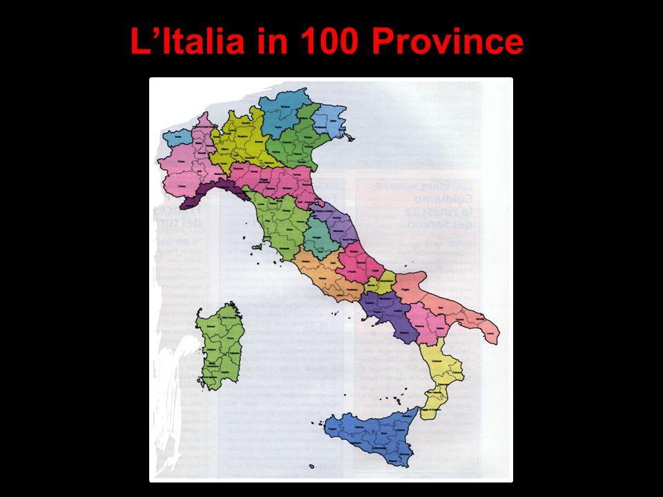 Art. 114 della Costituzione La Repubblica è costituita dai Comuni, dalle Province, dalle Città metropolitane, dalle Regioni e dallo Stato. I Comuni, l